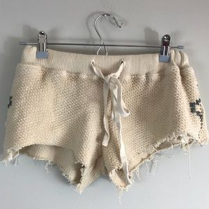 Pants - Gypsy 05 knit shorts with studs